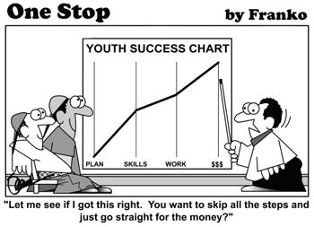 Millennials Cartoon