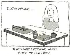 """""""I love my job"""" cartoon"""