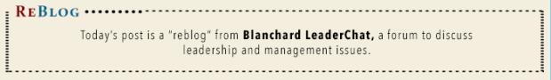 ReBlog Header - Blanchard LeaderChat
